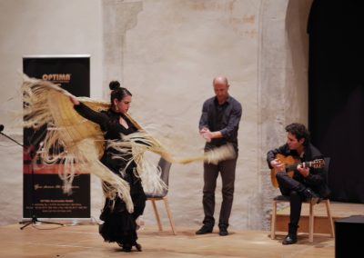 Katerina La Greca, flamenco, dancer, actress, David el Gamba, flamenco festival, Katerina Giannakopoulou, on stage, flamenco dancer, multidisciplinary artist