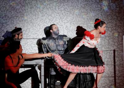 Katerina La Greca, multidisciplinary artist, dancer, actress, die Andalusierin, dance theatre, flamenco, danzaora