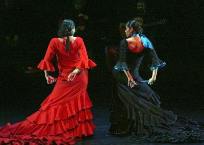 flamenco, contemporary, dance, dance theatre, on stage, dancer, performance, Esmeralda Enrique, Katerina La Greca, multidisciplinary artist, Katerina Giannakopoulou